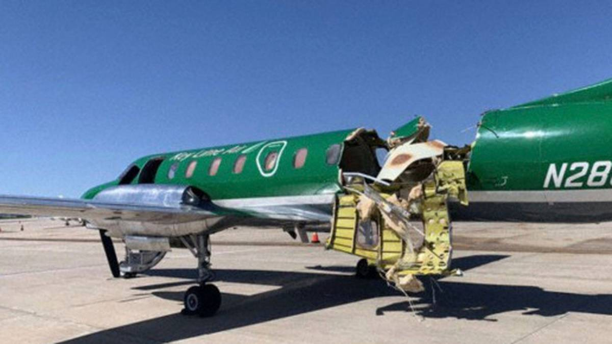 Amazing escape: Two planes collide mid-air near Denver, Colorado