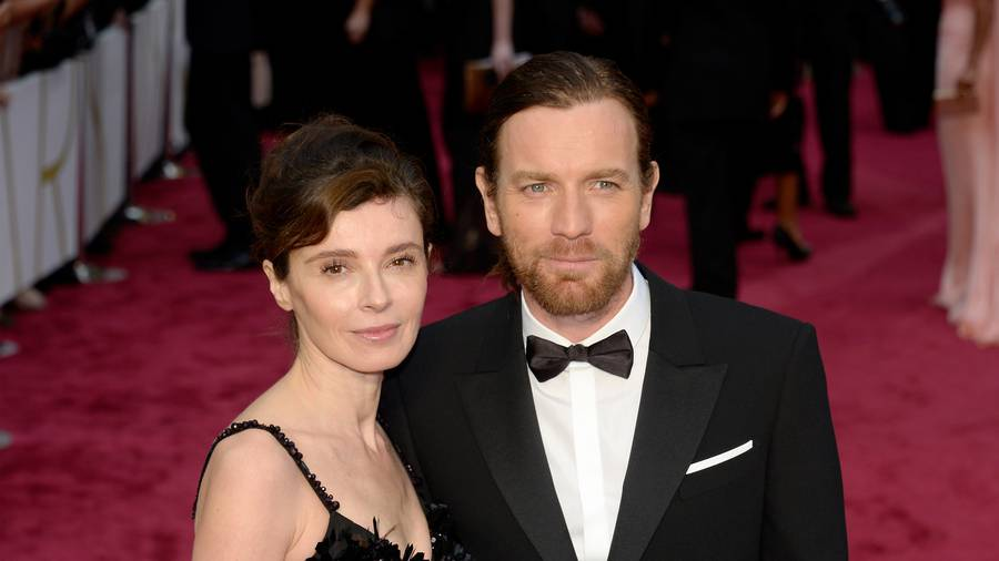 What Ewan McGregor's wife had to say about that Golden Globes speech