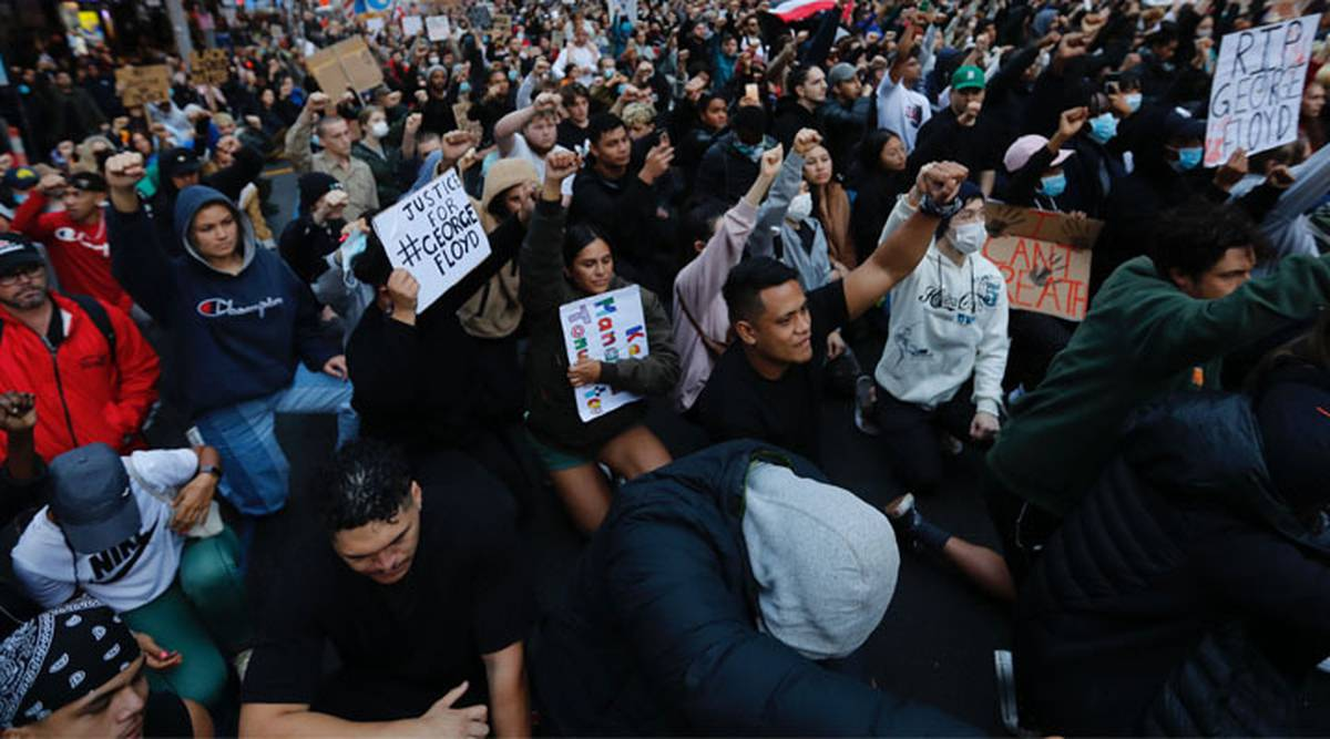 New Zealand protests live: Social distancing concerns as thousands attend protests