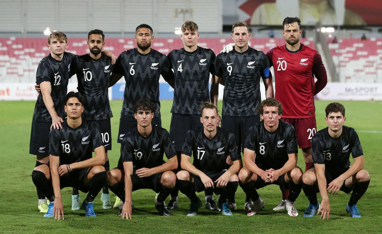NZ team photo. Photo / Photosport.co.nz