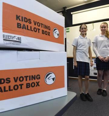 Tauranga Girls College Stage Mock Vote Nz Herald