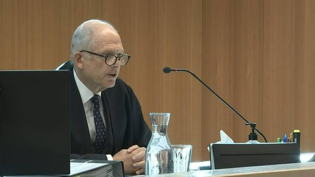 Justice Cameron Mander has explained the need for secrecy in relation to the gunman's decision to plead guilty.