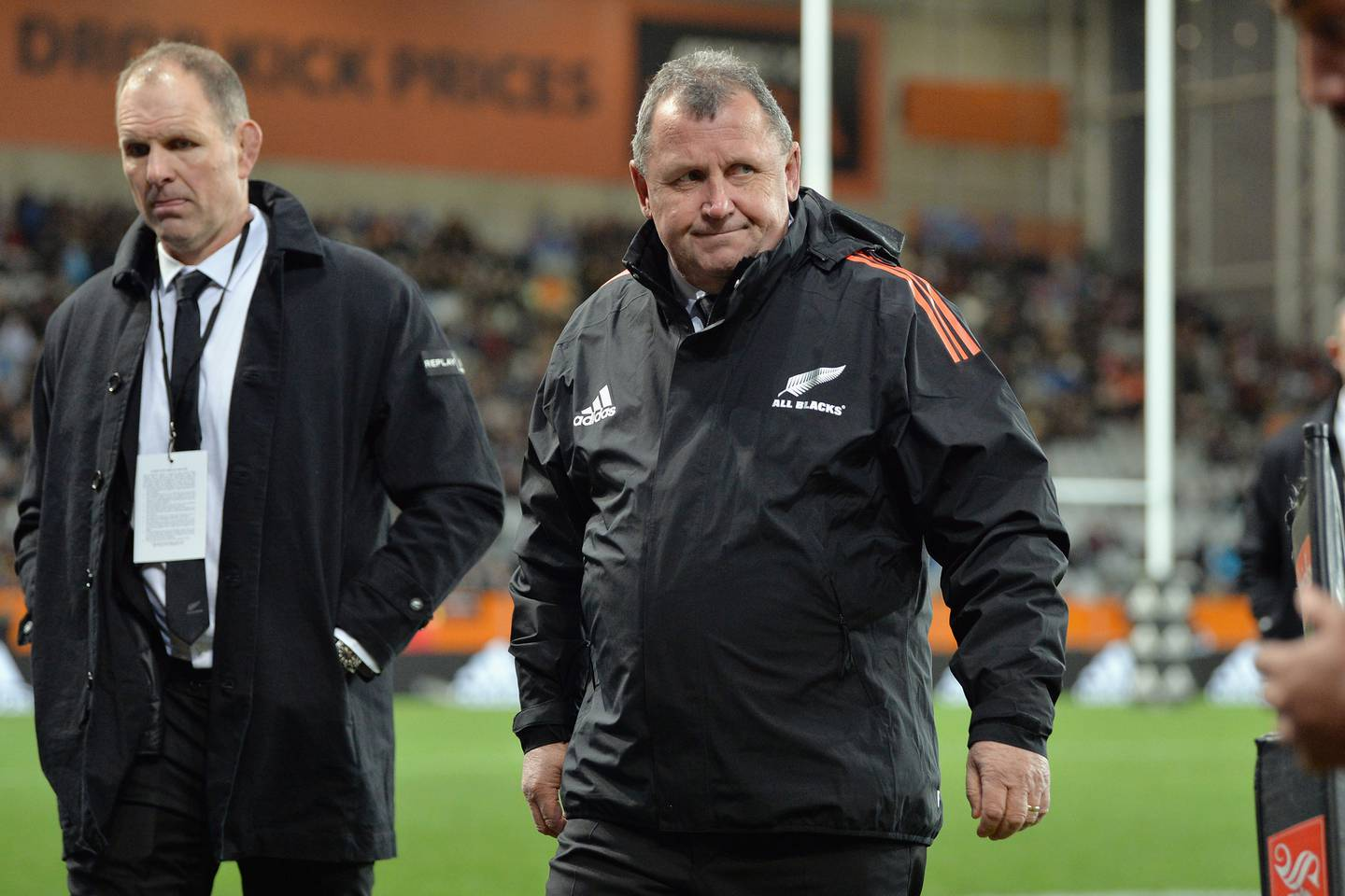 All Blacks Head Coach Ian Foster looks on prior to the International Test Match between the New Zealand All Blacks and Fiji. Photo / Getty Images.