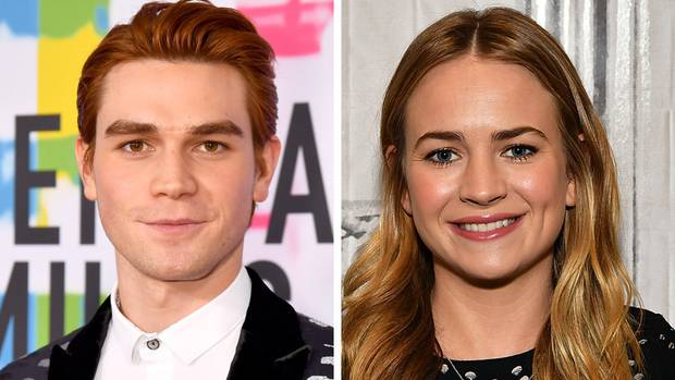 KJ Apa and Britt Robertson. Photos / Getty Images