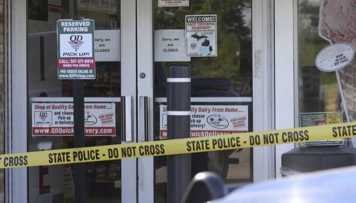 Covid-19 coronavirus: Man killed by police after mask dispute at Michigan store