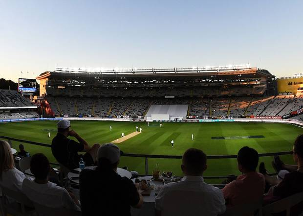 Eden Park hosted a day-night test in March. Photosport
