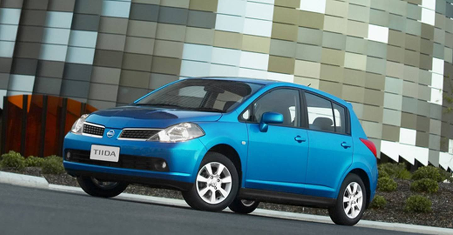 The Nissan Tiida was the second most stolen car in Auckland over the past year. Photo / Supplied