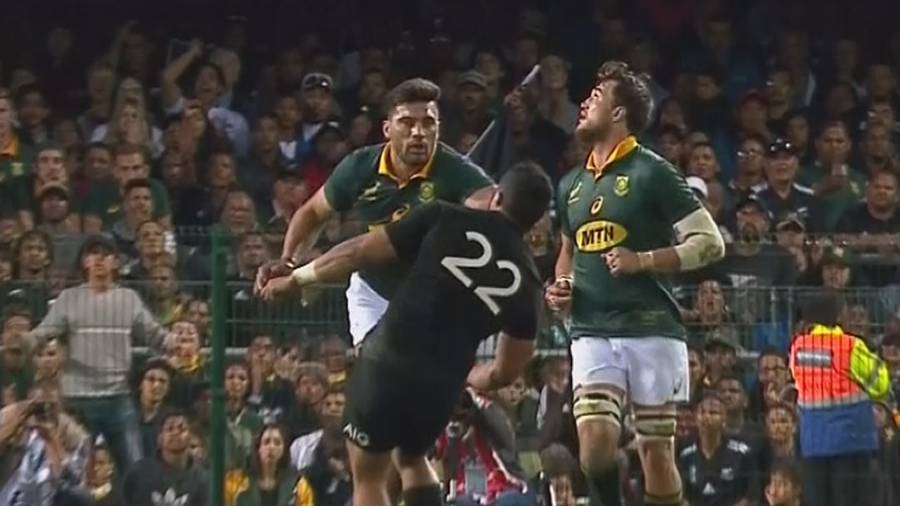 Jerome Garces' Baffling Decision To Send Off South Africa's Damian de Allende