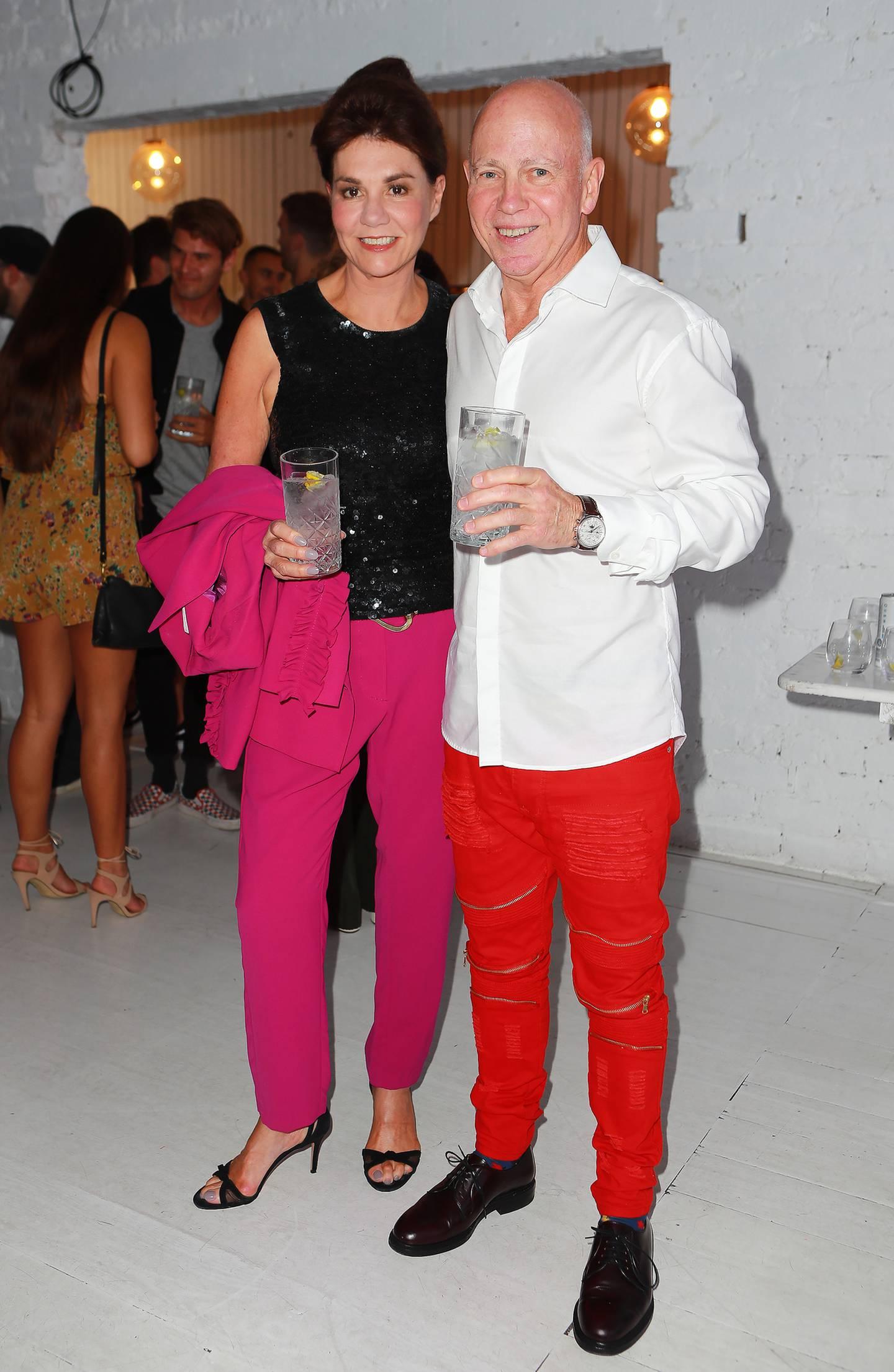 Pauline Hanna and Philip Polkinghorne in 2018. Photo / Norrie Montgomery