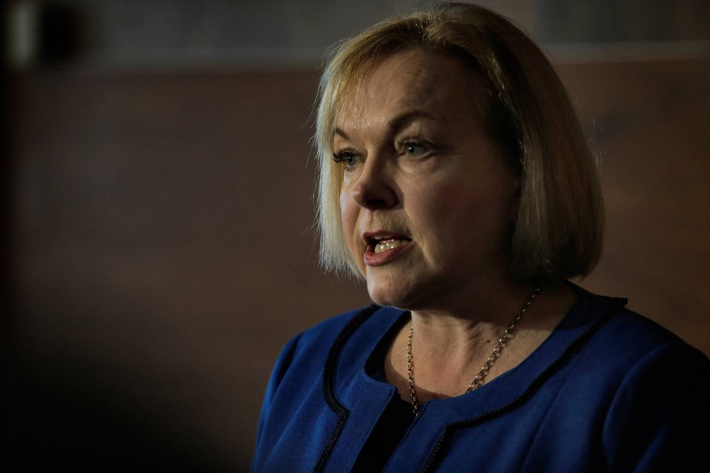 National Party leader Judith Collins won't confirm or deny reports she had told Nick Smith of an impending article. Photo / Alex Burton