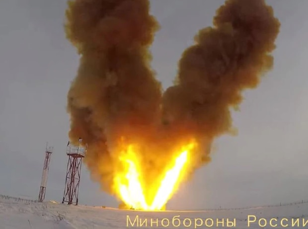 Avangard testing has already taken place. Photo / Supplied, Russian Ministry of Defence