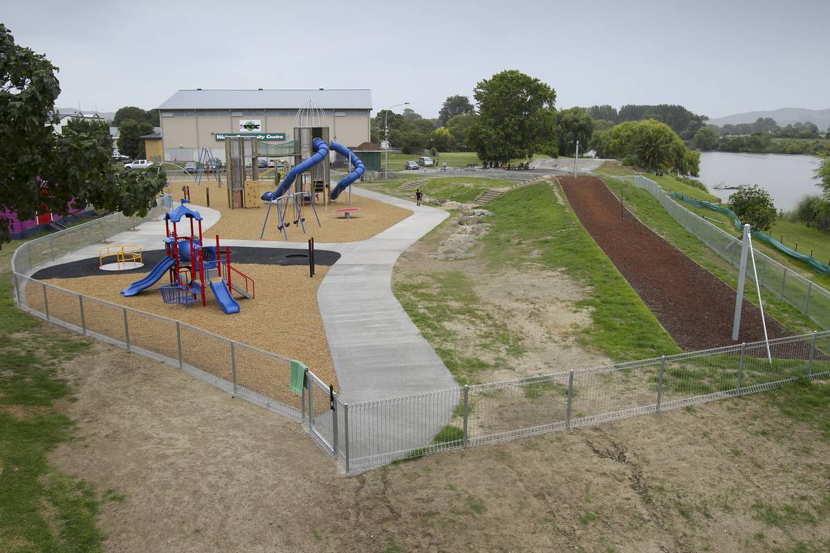 Wairoa's Destination Playground set for additions