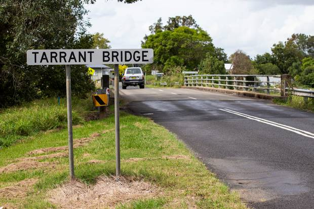 Tarrant Bridge in the town of Grafton, New South Wales, where Brenton Tarrant grew up. Photo / Leon Menzies