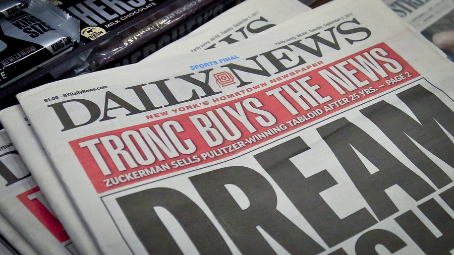 Virginia Gazette owner, Tronc, acquires New York Daily News