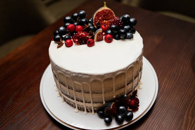 Fig decorated cakes will be big in 2018. Photo / Getty Images