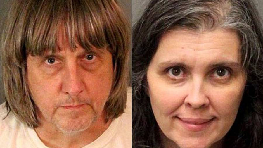 12 siblings have been found 'shackled' at their home in Perris, California