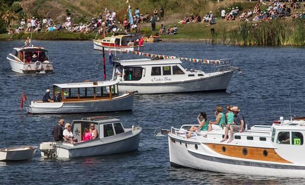 Classic and Wooden Boat Parade returns to Lake Rotoiti