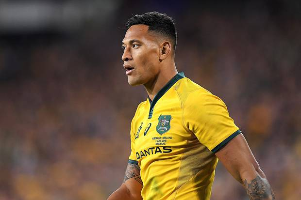 Today looms as D-day for Israel Folau.