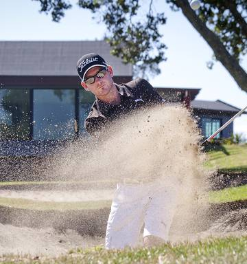 120154891ef ... Course record holder Josh Geary is a player to follow at the Mount  Maunganui course today