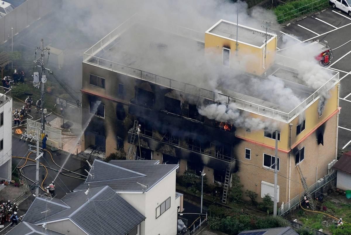 Man screaming 'You die!' kills at least 13 at anime studio