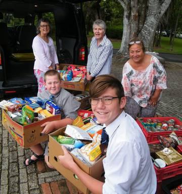 488e899c7f Hamilton schools help fill empty larders - NZ Herald