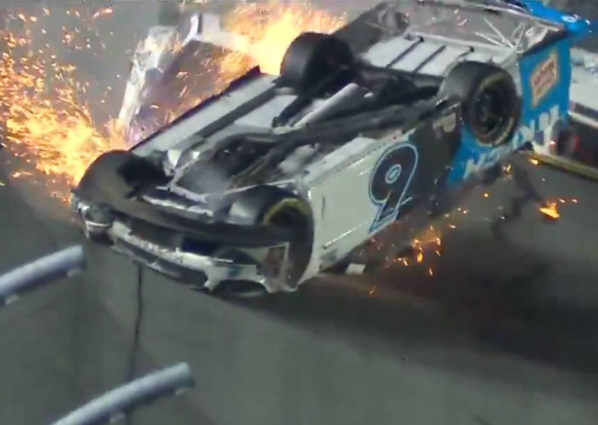 Motorsport: Horror crash overshadows Daytona 500 finish
