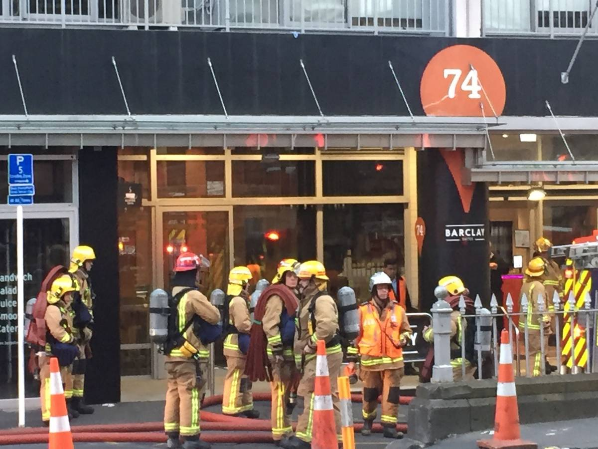 Fire and Emergency staff called to separate Auckland CBD incident near SkyCity inferno