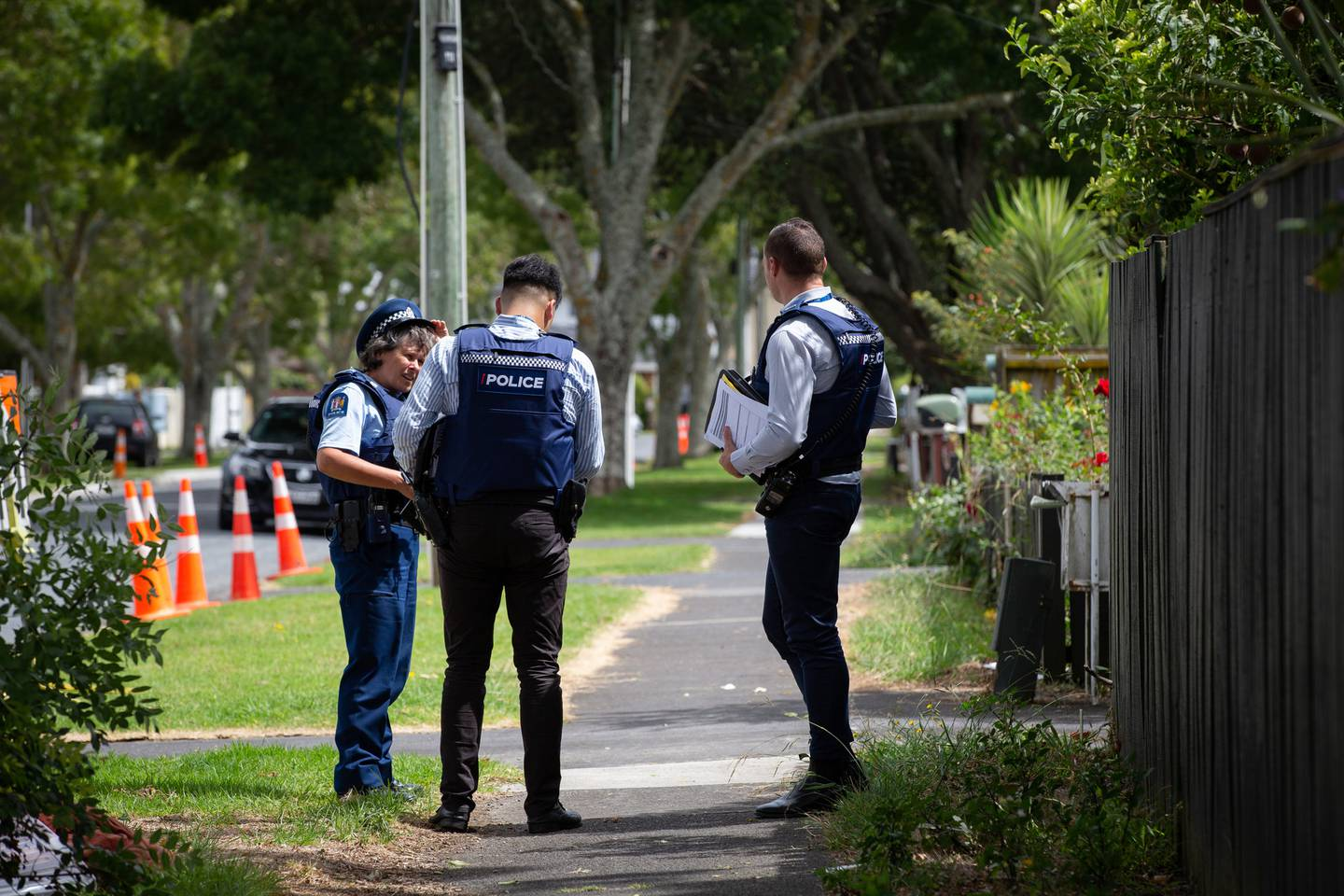 Police said Tangaru Turia was holding a gun as he left a property on Avis Ave in Papatoetoe before he was shot dead. Photo / NZME