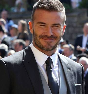 Royal Wedding 2018 What You Missed About David Beckham S Suit Nz