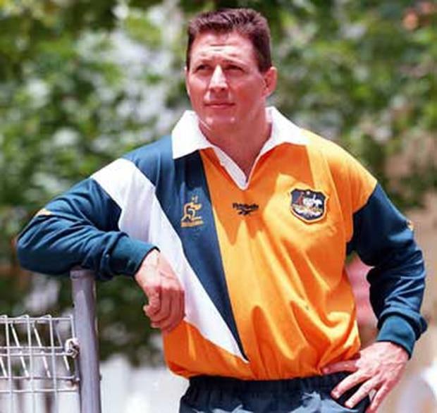 The 1997 Wallabies shirt.