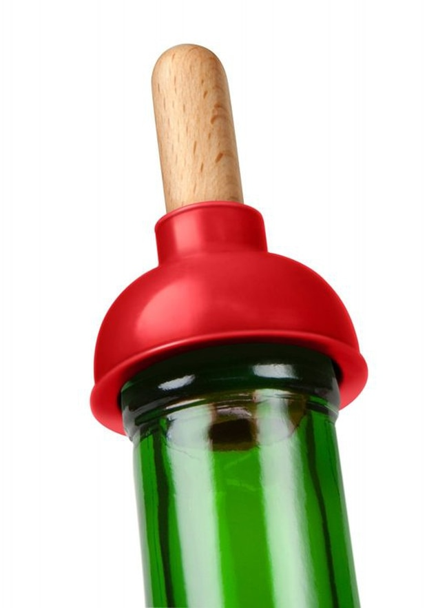 Wine plunger. Photo / Amazon