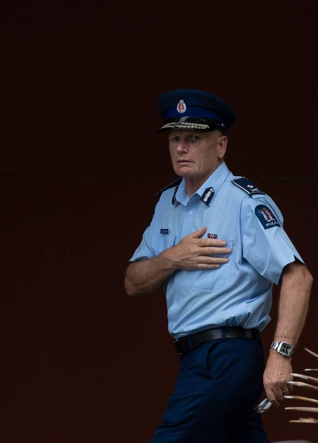 Deputy Police Commissioner Mike Clement. Photo / Alan Gibson
