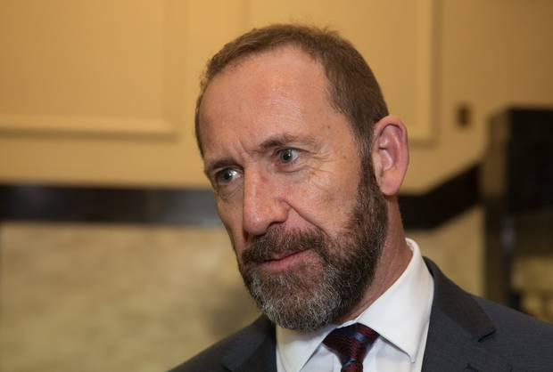 Justice Minister Andrew Little says if police were willing the source of the original breach to the British press could be found and prosecuted. Photo / Mark Mitchell