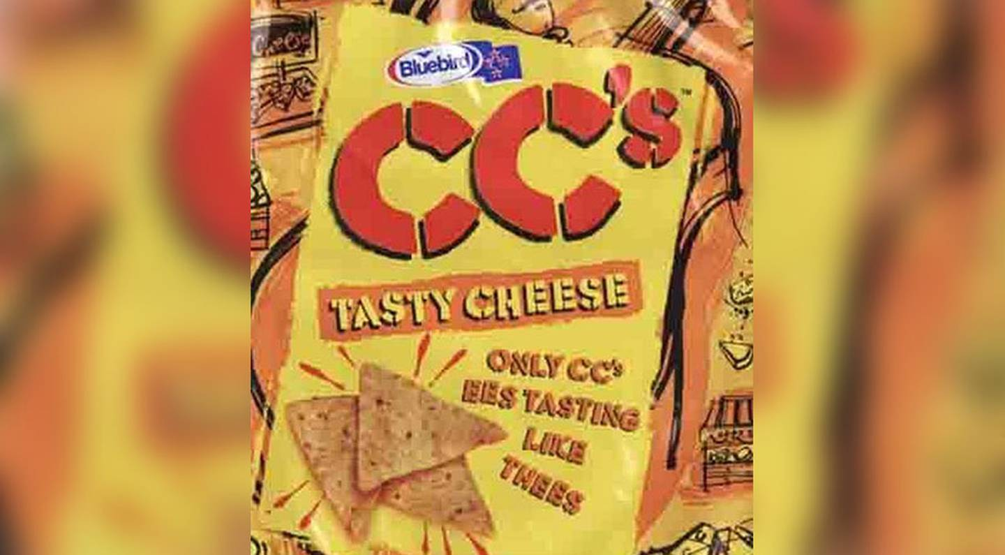CC's corn chips was a staple in Kiwi kids' lunchboxes. Photo / Bluebird