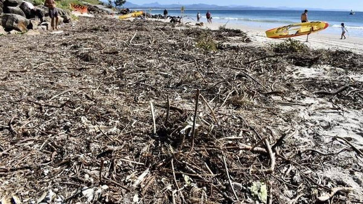 Byron Bay beach unrecognisable wiped out by erosion - NZ Herald