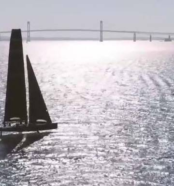 7605f83297 America s Cup  American Magic confirms sailing  dry laps  in ...