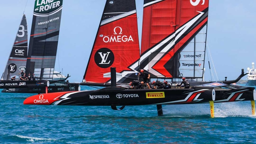 Rising America's Cup demands draw Olympic pedigree