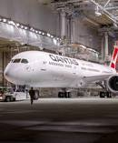 Qantas 787-9 Dreamliner at Boeing in Seattle. Picture / supplied.