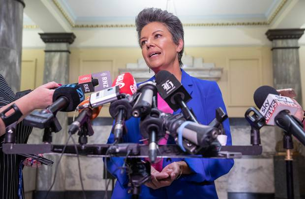 National Party deputy leader Paula Bennett said yesterday politics had been a wild ride but it was time to have another career. Photo / Mark Mitchell