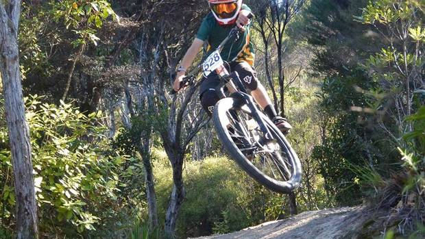 George Davy finished fifth in the Enduro division at the NZ Schools North Island Mountain Bike Championships.
