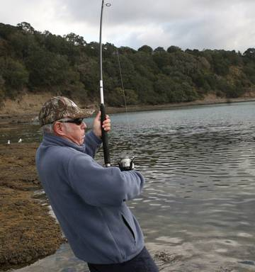 Fishing: Finding the perfect spot key to becoming a rock