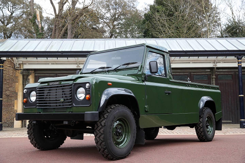 The Duke of Edinburgh designed the vehicle himself. Photo / Getty Images