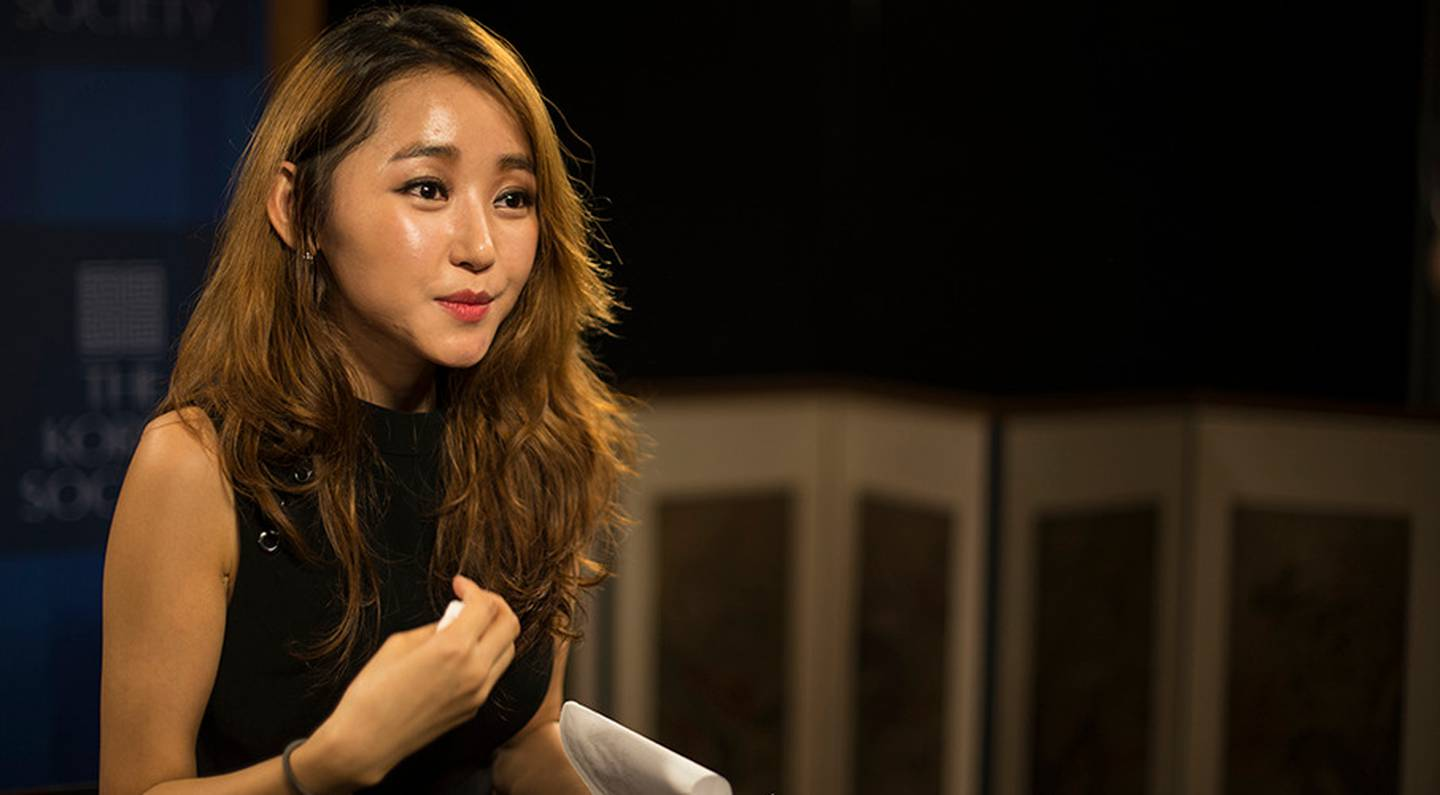 North Korean defector Yeonmi Park said after attending Columbia University that US schools are forcing students to think a certain way ... and are worse than the indoctrination in her home country. Photo / Getty Images