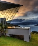 Luxury properties such as the Jagged Edge in Queenstown are popular with the super-rich.