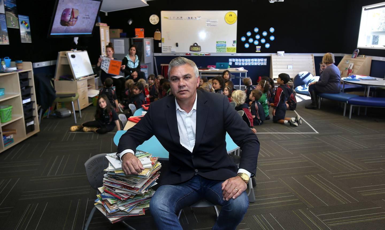 Bruce Jepsen, principal of Te Akau ki Papamoa Primary School and president of Te Akatea, the New Zealand Māori Principals Association. Photo / John Borren