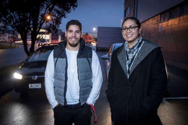 The Waterview Tunnel put to the test: West Auckland man Mauricio Moreira and Herald reporter Vaimoana Tapaleao took two different routes to Onehunga to see which was quicker. Photo / Michael Craig
