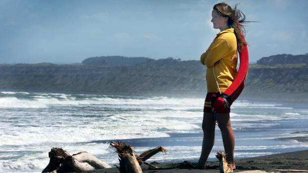 Lifeguard Clarissa Nowak is one of a team of Whanganui Surf Lifesavers to receive a second national award for a dramatic rescue at Kai Iwi Beach last year. Photo / File