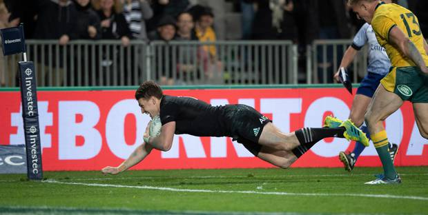 Beauden Barrett...put on notice? Photo / Brett Phibbs