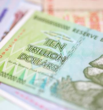 Changing Bills Back Is Always A Good Idea Though Your Zimbabwe Dollars Might Not Stretch