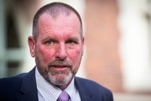 Detective Inspector Scott Beard has warned people that it is an offence to name the accused on social media. Photo / Jason Oxenham